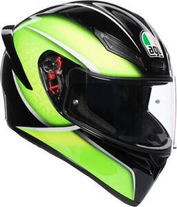 CASCO INTEGRALE MOTO AGV K1 BLACK