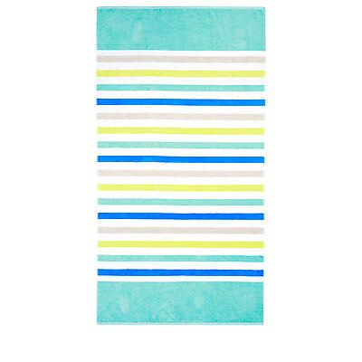 NEW Vue Peninsula Beach Towel: Saint Lucia Blue