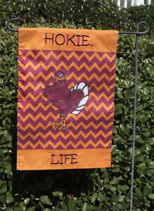 Beau Image Is Loading Virginia Tech Hokies Hokie Life Chevron Garden Flag