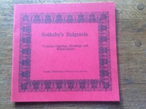 Sotheby-039-s-Auction-Catalogue-Victorian-Paintings-Drawings-amp-Watercolours-1978