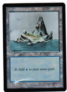 Magic the Gathering MTG Forest Arena Foil Ice Age LP
