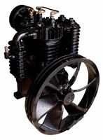 5 Horsepower Cast Iron 2 Stage Industrial Air Compressor Pump