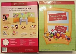 American Girl Petite Parties Play Set Doll Party Craft