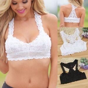 Sexy-Women-Sleeveless-Lace-Tank-Tops-Bustier-Bra-Vest-Crop-Top-Bralette-Blouse