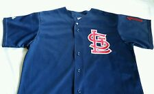 MLB Authentic Collection St. Louis Cardinals Jim Edmonds Majestic BP Jersey Sz L