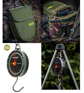 SABER SPECIMEN  FISHING SCALES 27K CARP FISHING DIAL SCALES + DELUXE CARRY CASE  first-class quality