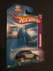 Hotwheels  VW Beetle OVAL VINTAGE RARE VOLKSWAGEN MATTEL 40th Anniversary