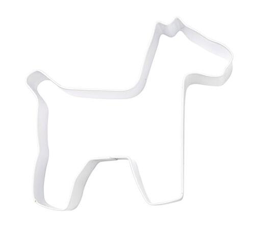 Eddingtons Emporte-pièce Chien blanc-pâtisserie biscuit et métal cutter 9,5 cm