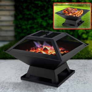 3 In 1 BBQ Grill | Fire Pit | Garden Heater| Great for Camping Garden Outdoors
