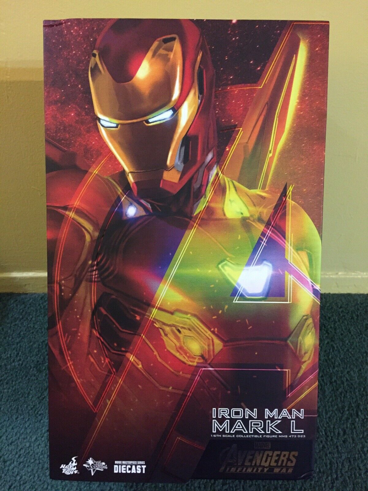Hot Toys EMPTY ONLY Avengers Infinity War Iron Man Mark L 50