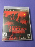 Dead Island Riptide *Special Edition*  PS3 PlayStation 3 NEW