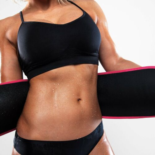 Sweet Sweat Waist Trimmer Belt Medium Includes Sample of Sweet Sweat Men Women