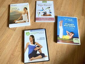 Set Of 4 Yoga Workout DVD Videos