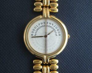 garantie de haute qualité dessin de mode ramassé Details about Rodolphe Cattin (MRC) by Longines Quartz Gold Plated Women's  Swiss Watch