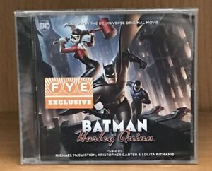 Batman-vs-Harley-Quinn-soundtrack-score-CD-sealed-FYE-exclusive