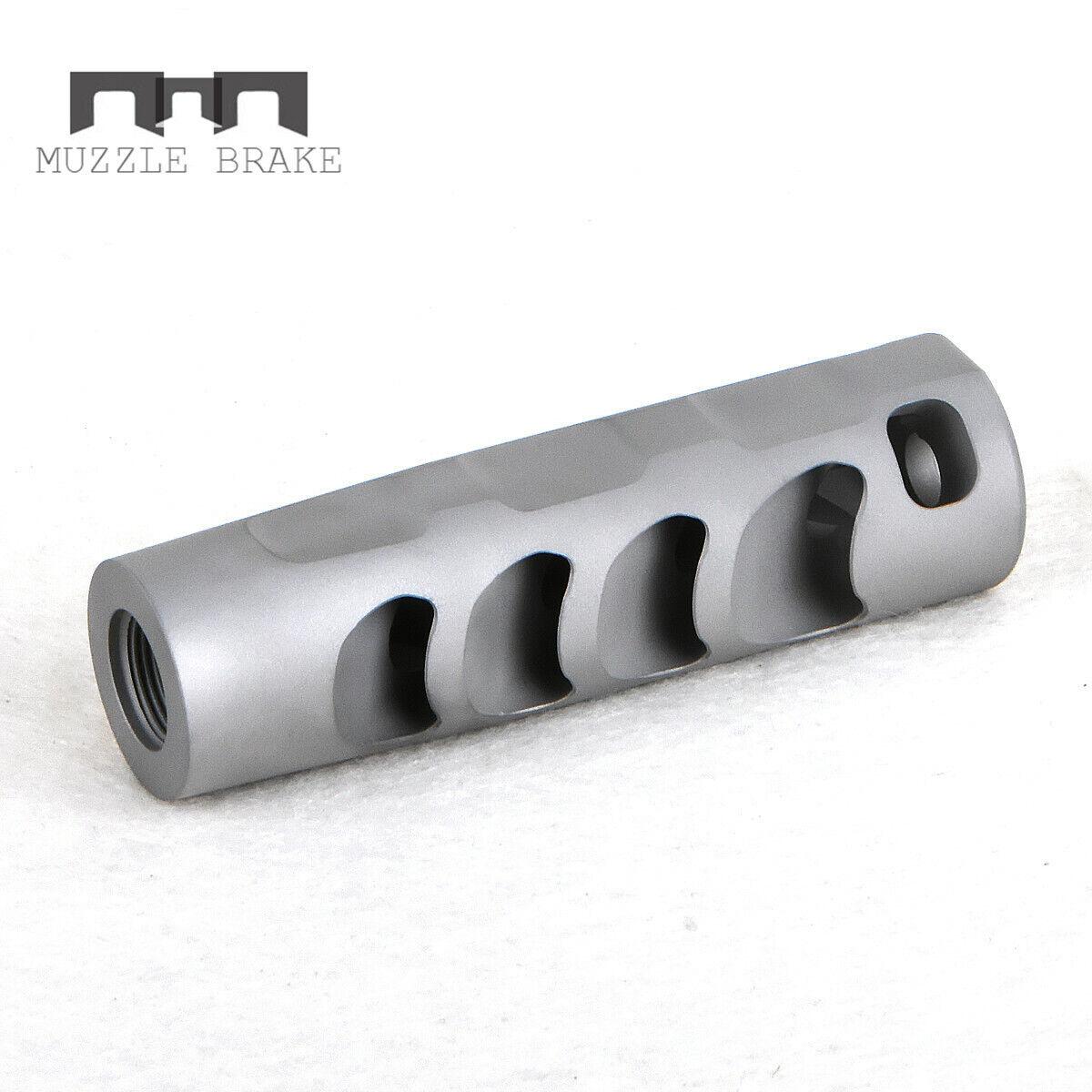 Compensador de freno de acero inoxidable .223 5.56 Bozal COPM 1 2x28RH Arandela libre del hilo de rosca