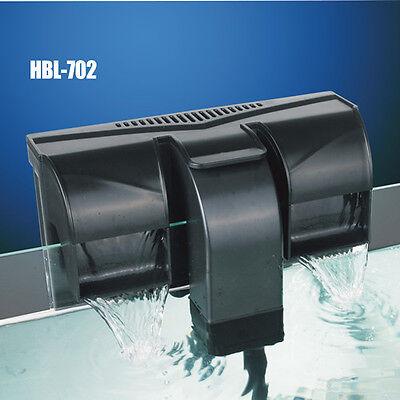 HBL 702 FILTRO ESTERNO A ZAINO ZAINETTO CASCATA 7W 800 L/H ACQUARIO DOLCE MARINO