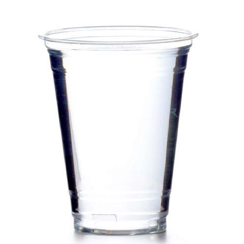 1000 Stk Becher 0,4l Clear Cup PET Smoothie Klarbecher 16oz
