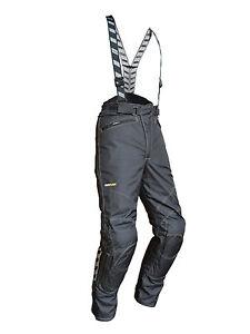 Rukka-Focus-Gore-Tex-Herren-Motorradhose-Textilhose-in-C1-Kurzgroesse-schwarz
