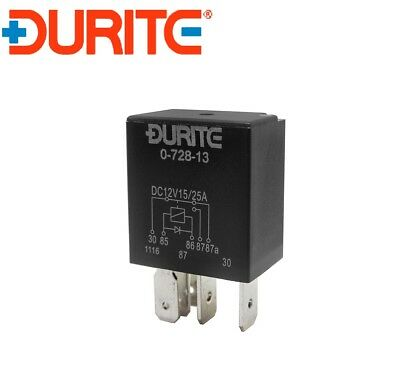 5 Pin Heavy Duty Change Over Relay 12v Volt 70//100Amp Durite Quality