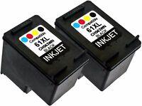 2PK For HP 61XL HP61XL CH563WN Black New Gen Deskjet 1000 2050 2541 3050A 3052A
