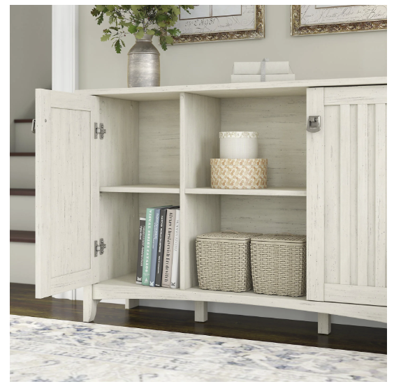 Storage Cabinet Doors Antique White, Cabinets For Living Room