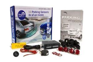 Award Winning Dolphin Dps400f Front Parking Sensor Kit - 4 Capteurs Audio Buzzer-afficher Le Titre D'origine