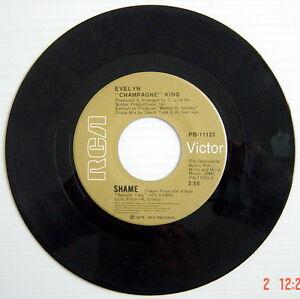 1978-039-S-45-R-P-M-RECORD-EVELYN-034-CHAMPAGNE-034-KING-DANCIN-039-DANCIN-039-DANCIN-039-SHAME