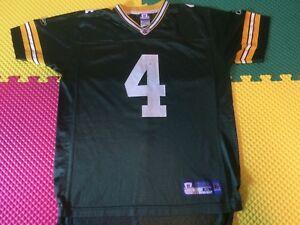 Brett Favre Green Bay Packers Reebok NFL Equip. Green Jersey Youth ... a71f4e9ac