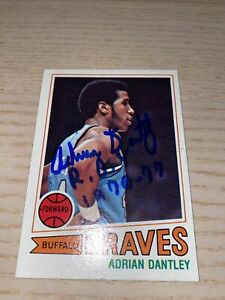 Adrian Dantley 1977/78 Topps Auto Autograph RC Rookie Signed ROY Inscription