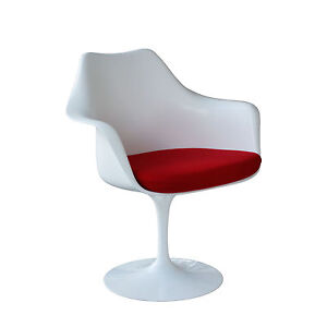 Knoll international saarinen tulip arm chair eero saarinen for Tulip stuhl nachbau