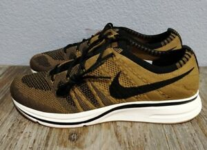 fdc398ec52dce Image is loading Nike-Flyknit-Trainer-Golden-Beige-Black-Black-AR8396-