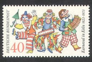 Germany-1973-Cologne-Carnival-Clowns-Music-Holiday-Animation-1v-n30795