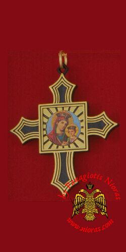 Orthodox Amulet - Plastic Cross Icon 3 Designs Kreuz Kruzifix Glücksbringer