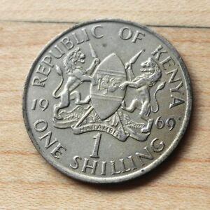 Details about 1969 Kenya 1 Shilling
