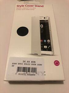 😍 coque protection téléphone sony xperia c5 ultra etui rabatable officiel folio