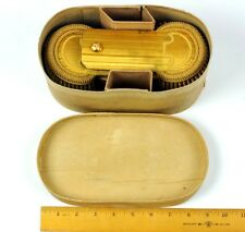 19th Century French Artillery Officer's Epaulettes in Original Antique Wood Box