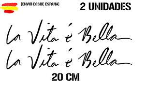 Vinilo-de-corte-la-vida-es-bella-pegatina-divertido-de-20cm-sticker-decal