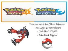 Pokemon Ultra Sun and Moon XY&Z Shiny Yveltal Event Pokemon