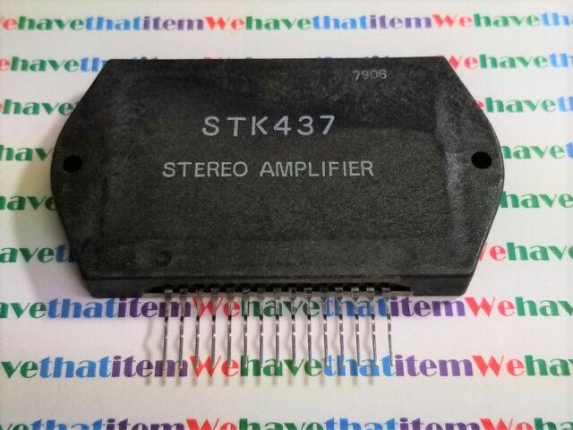 STK437 Stereo Audio Power Amplifier