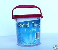 24 Waterproof Storage Tubes In A Pail Great For Many Things Red