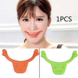 Flexible-Face-Cheek-Smile-Maker-Facial-Muscle-Exerciser-Mouth-Slim-Exercise-NEW