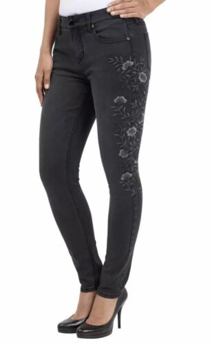 SEVEN7 WOMEN/'S  FLORAL EMBROIDERED SKINNY JEAN  DUSTY OLIVE VARIETY SIZE  NWT