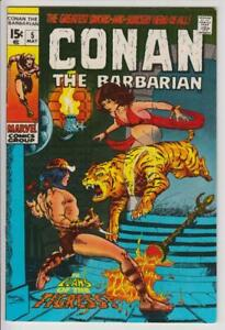 Conan-The-Barbarian-5-Barry-Smith-Marvel-Comics-1971-VF-8-5