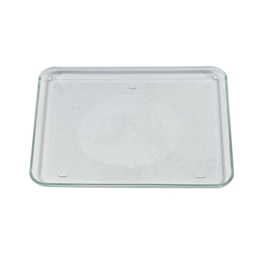 Glass Bowl Rectangular 341x266x23mm Microwave GENUINE GAGGENAU Bosch 00672497