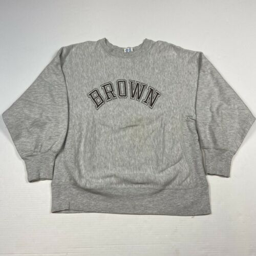 Vintage Brown University Champion Reverse Weave Sw