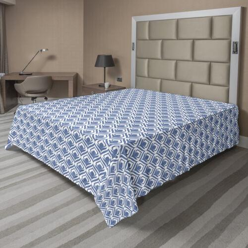 Ambesonne Ethnic Flat Sheet Top Sheet Decorative Bedding 6 Sizes