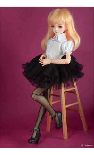 Black Florence Race Skirt 1//4 BJD ballerina dress MSD Dollmore