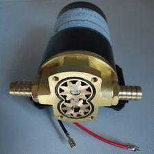 Black Performance Oil Scavenge Pump Mount Turbo Rear Bronze 12V Gear Oil Pump