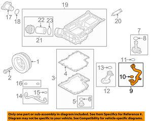 PORSCHE OEM 11-13 Panamera 3.6L-V6 Engine-Oil Tube 94610703120   eBayeBay